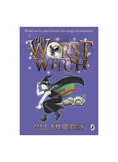 Morhipo kitap The Worst Witch Jill Murphy Puffin Renkli